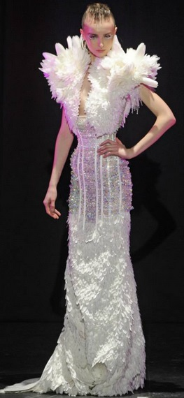 Serkan Cura Couture Spring -2014